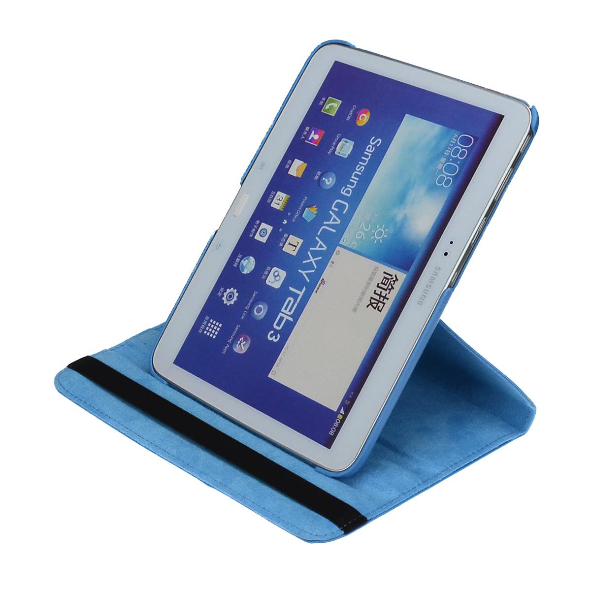 360-drehbar-Huelle-Samsung-Tab-E-9-6-Schutz-Cover-Case-Tasche-Etui-Staender-Folie Indexbild 30