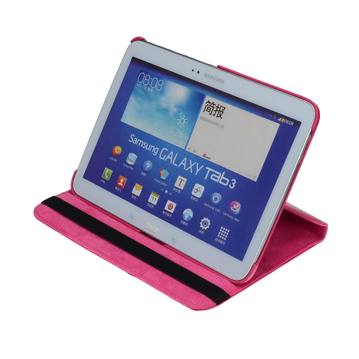 360-drehbar-Huelle-Samsung-Tab-E-9-6-Schutz-Cover-Case-Tasche-Etui-Staender-Folie Indexbild 19