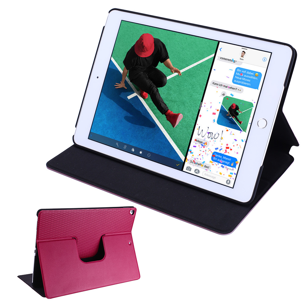 Flip-Case-iPad-2017-2018-Smart-Schutz-Huelle-Cover-Aufstellbar-Staender-Folie Indexbild 28