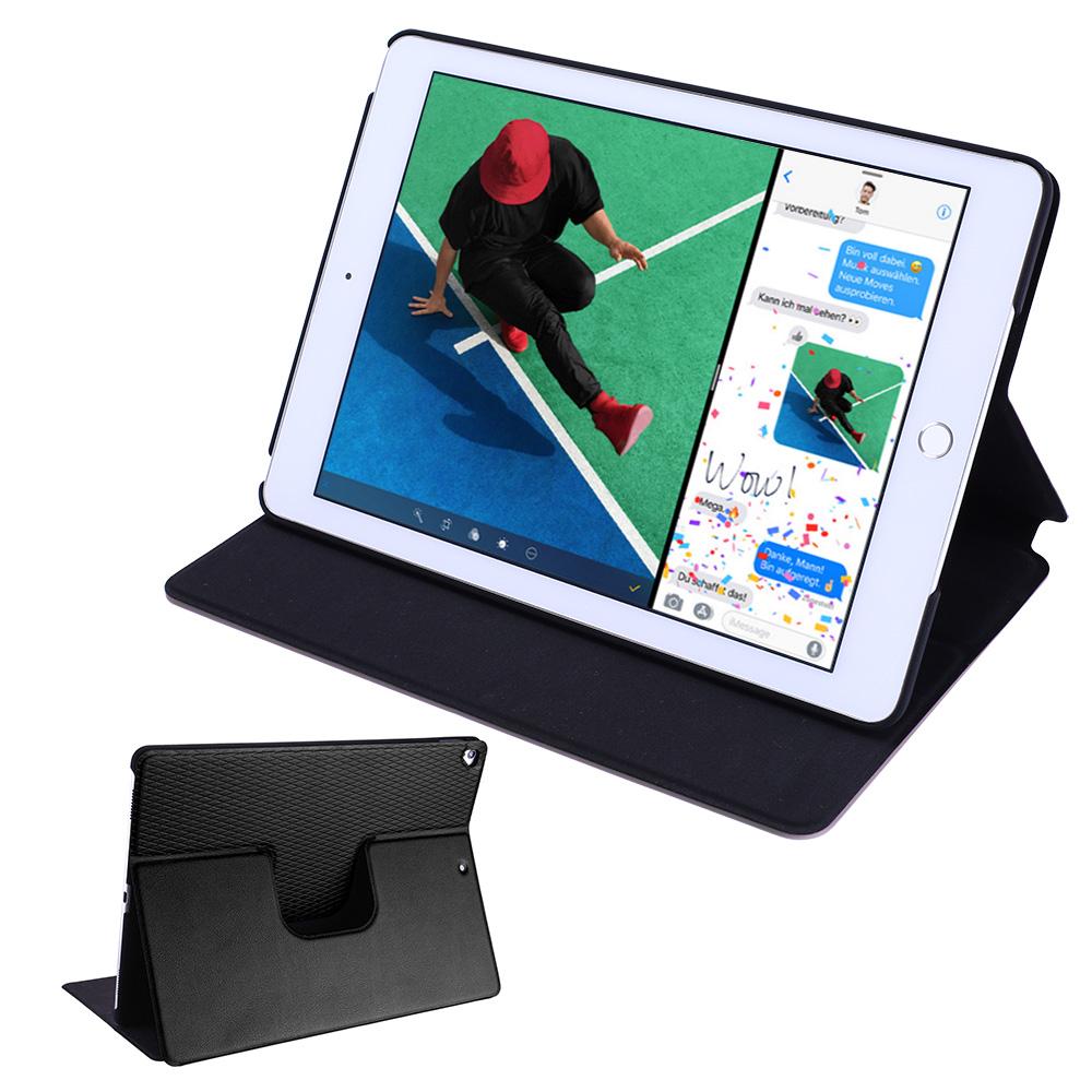 Flip-Case-iPad-2017-2018-Smart-Schutz-Huelle-Cover-Aufstellbar-Staender-Folie Indexbild 6