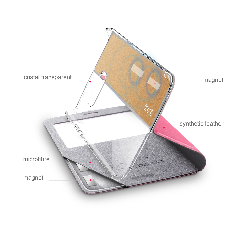 Flip-Case-Samsung-S6-Edge-Magnet-Fenster-Cover-Aufstellbar-Staender-Huelle-Etui Indexbild 18