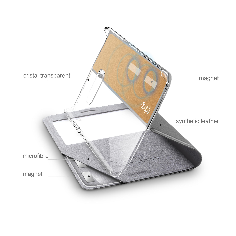 Flip-Case-Samsung-S6-Edge-Magnet-Fenster-Cover-Aufstellbar-Staender-Huelle-Etui Indexbild 8