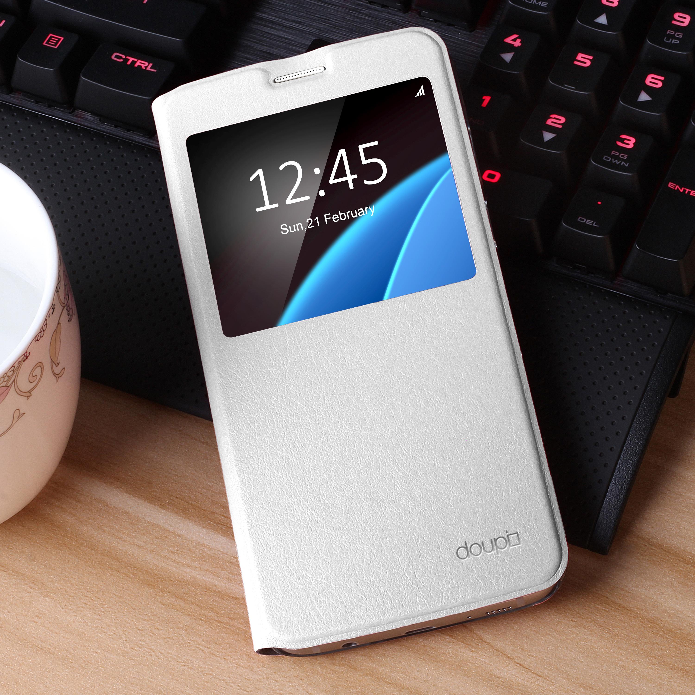 Flip-Case-Samsung-S6-Edge-Magnet-Fenster-Cover-Aufstellbar-Staender-Huelle-Etui Indexbild 14
