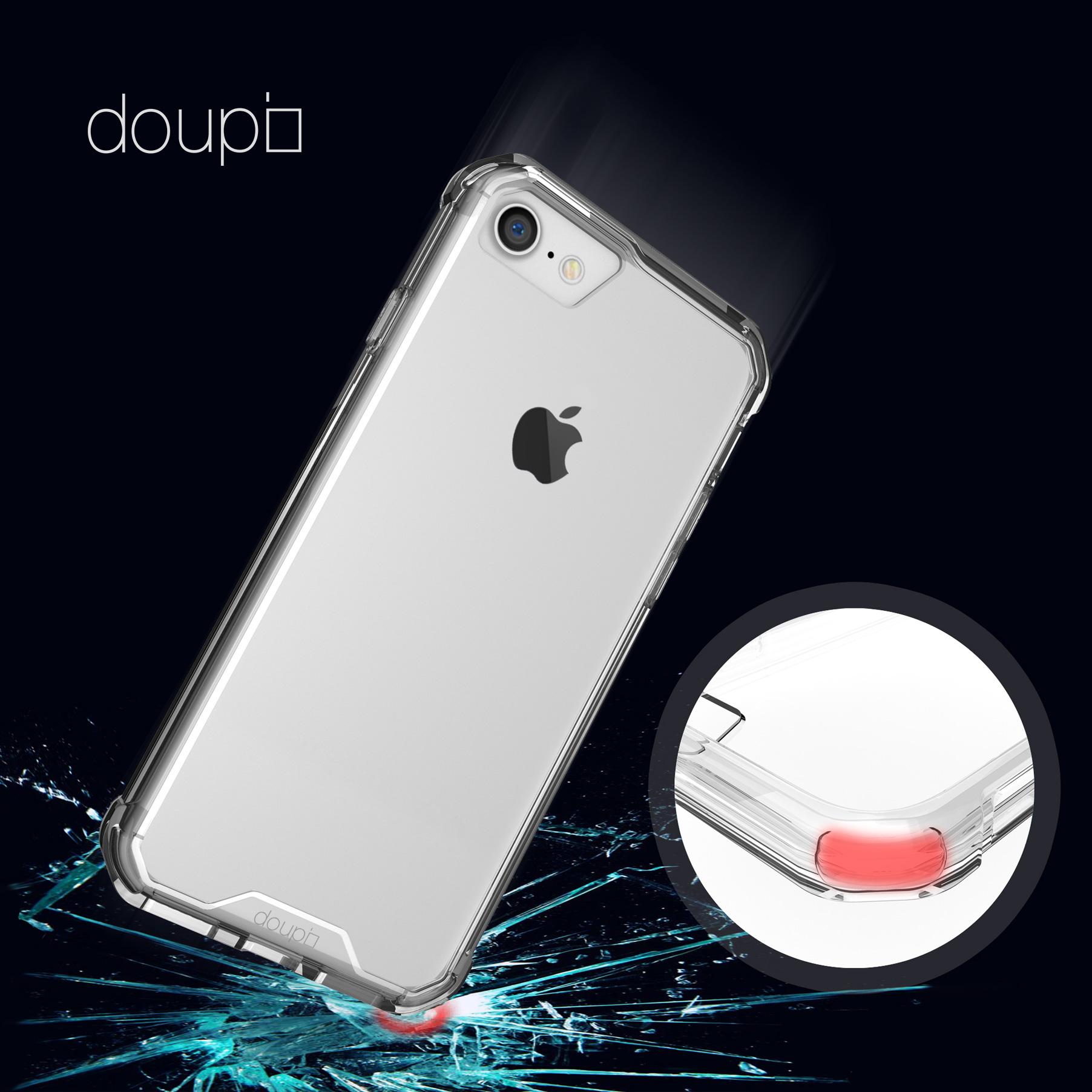 AirClear-Case-iPhone-8-7-4-7-034-Rueckschale-Bumper-Rahmen-Schutz-Huelle-Folie Indexbild 24