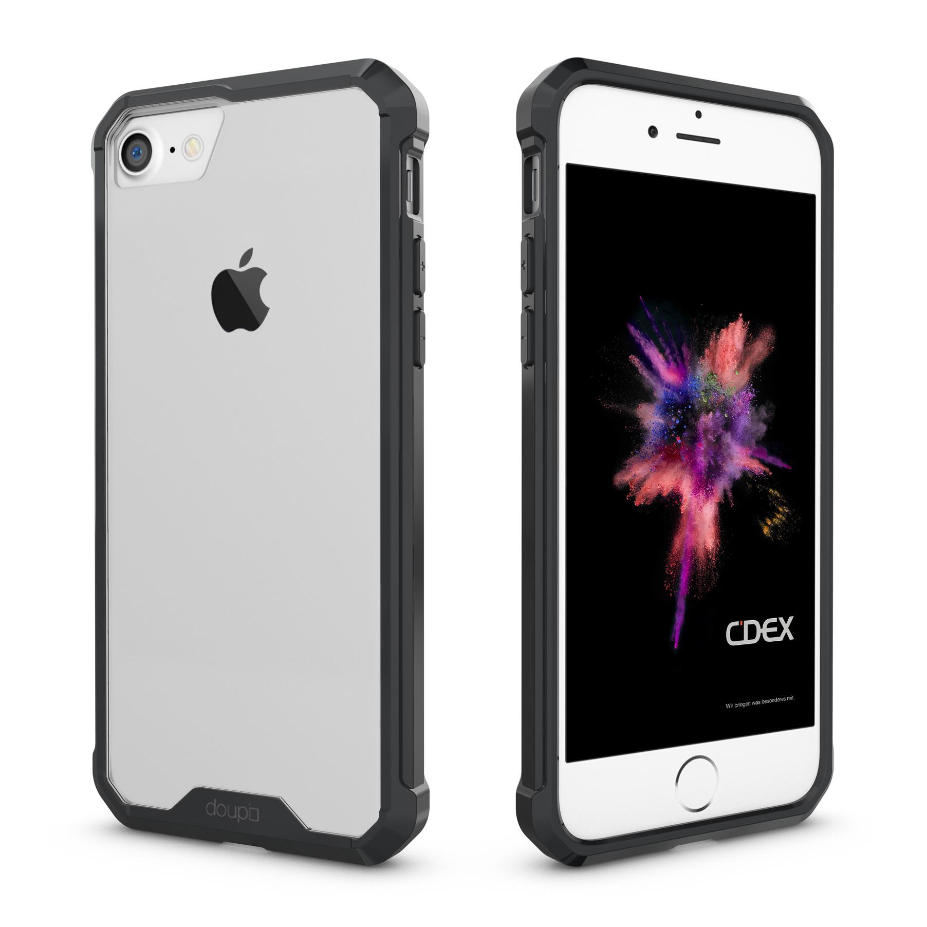 AirClear-Case-iPhone-8-7-4-7-034-Rueckschale-Bumper-Rahmen-Schutz-Huelle-Folie Indexbild 7