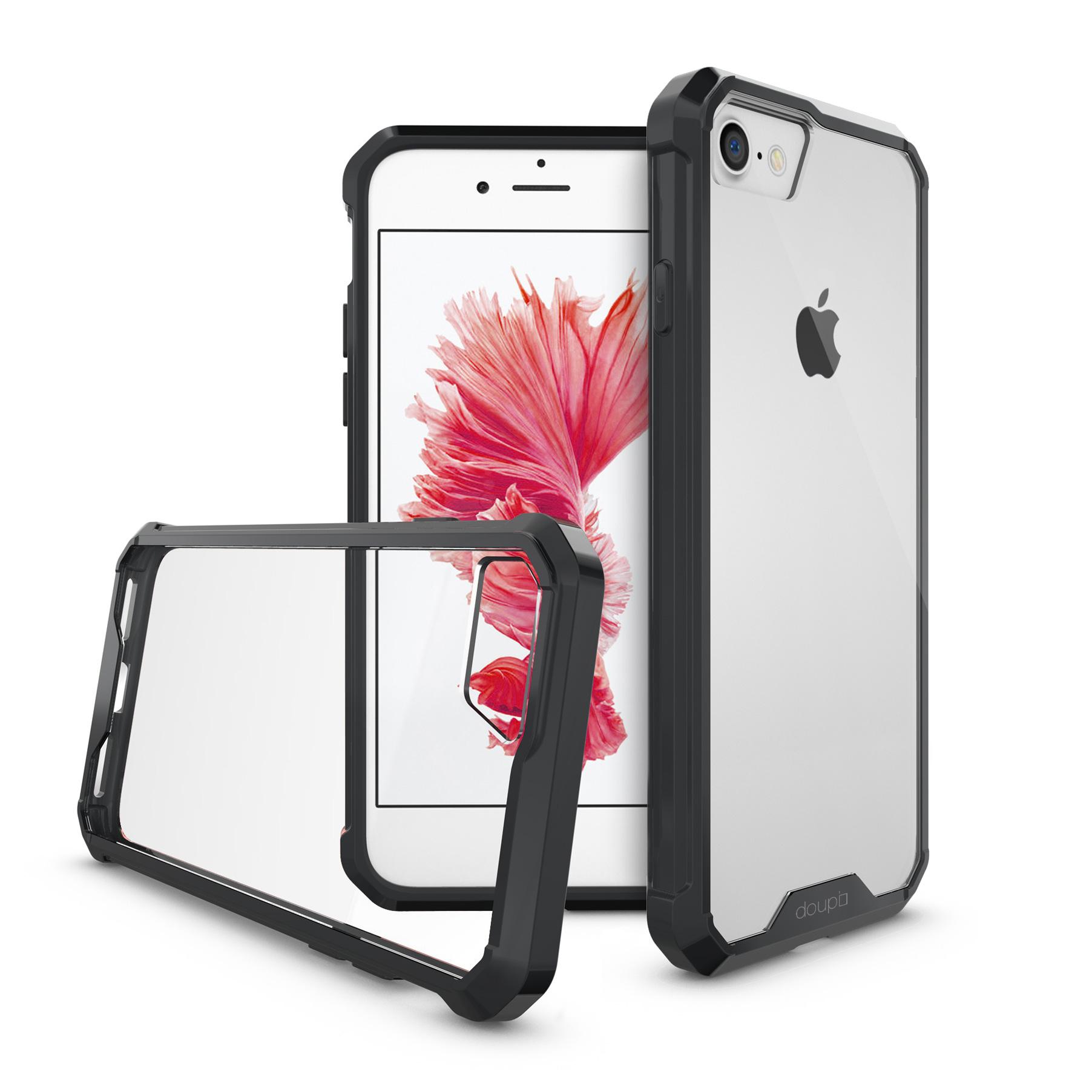 AirClear-Case-iPhone-8-7-4-7-034-Rueckschale-Bumper-Rahmen-Schutz-Huelle-Folie Indexbild 3