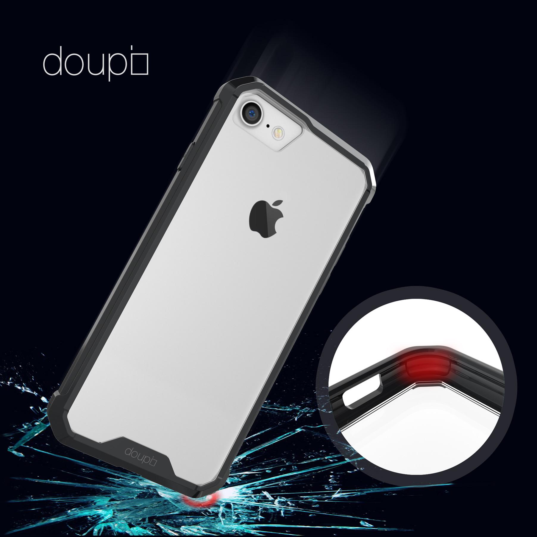 AirClear-Case-iPhone-8-7-4-7-034-Rueckschale-Bumper-Rahmen-Schutz-Huelle-Folie Indexbild 6