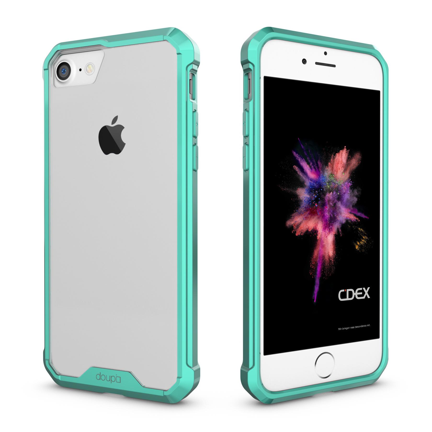AirClear-Case-iPhone-8-7-4-7-034-Rueckschale-Bumper-Rahmen-Schutz-Huelle-Folie Indexbild 13