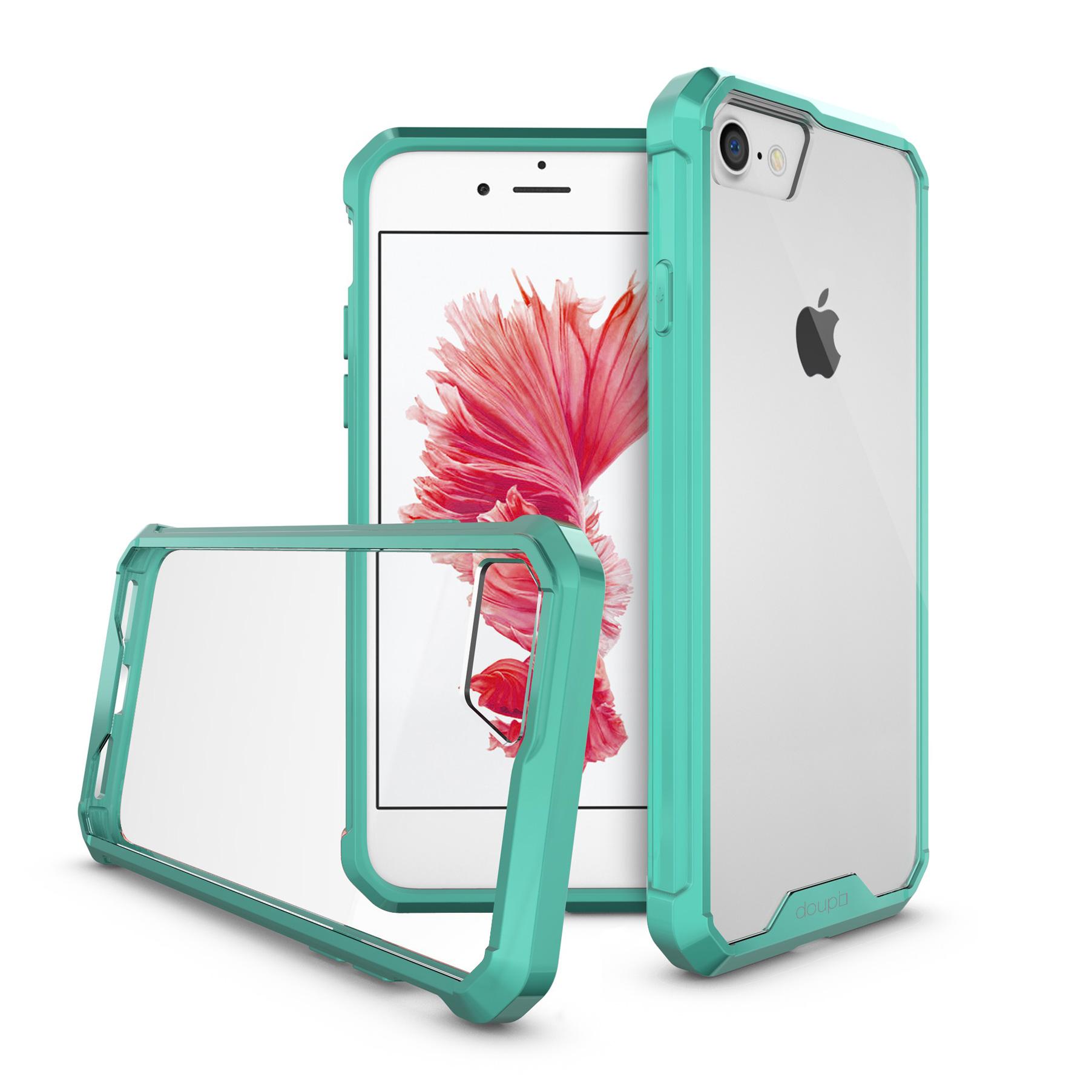 AirClear-Case-iPhone-8-7-4-7-034-Rueckschale-Bumper-Rahmen-Schutz-Huelle-Folie Indexbild 9