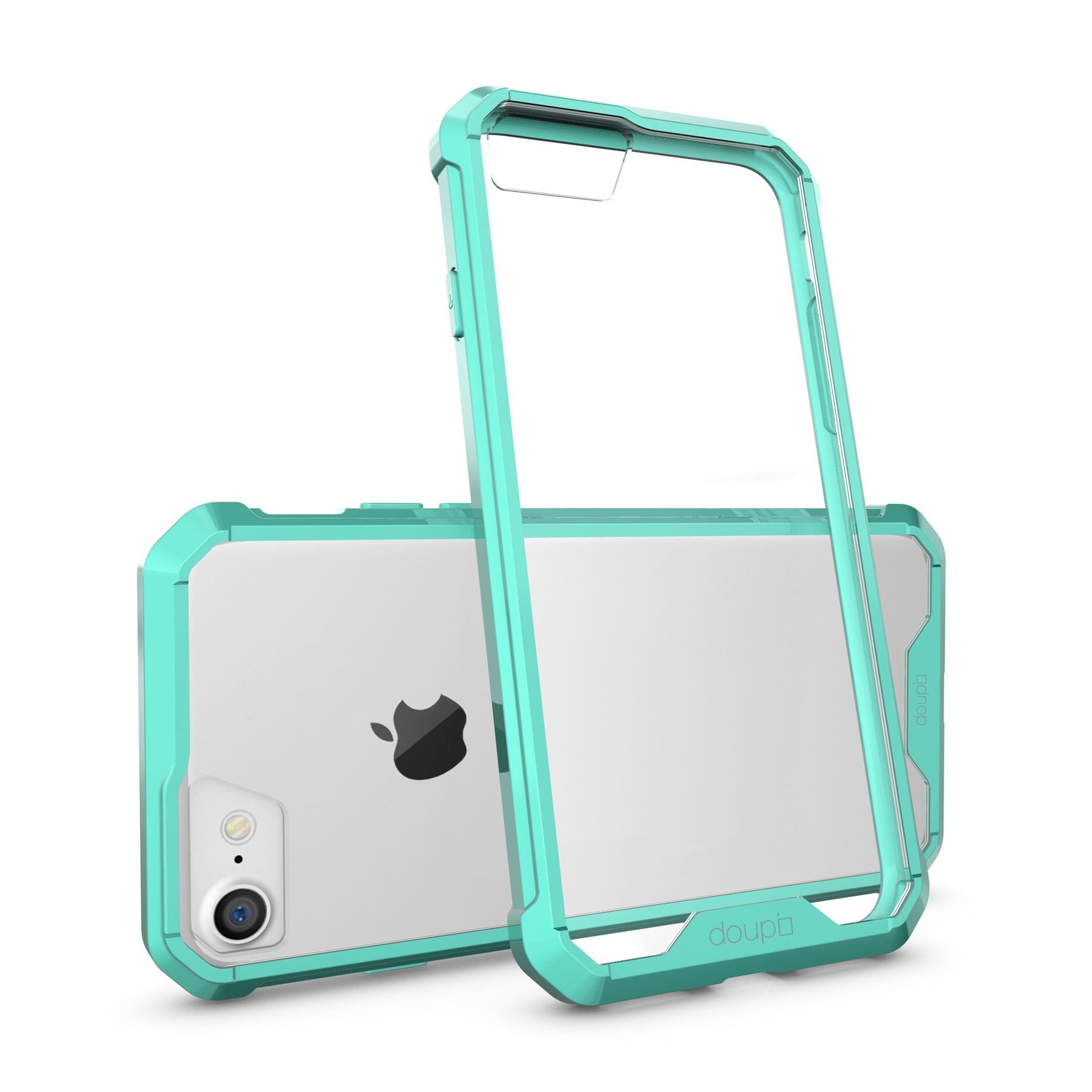 AirClear-Case-iPhone-8-7-4-7-034-Rueckschale-Bumper-Rahmen-Schutz-Huelle-Folie Indexbild 10