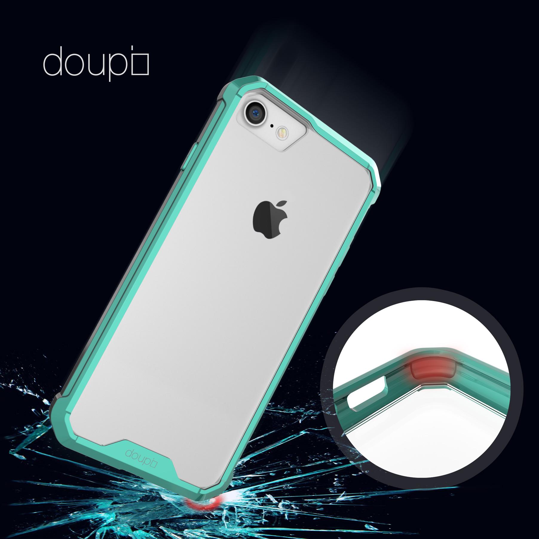 AirClear-Case-iPhone-8-7-4-7-034-Rueckschale-Bumper-Rahmen-Schutz-Huelle-Folie Indexbild 12