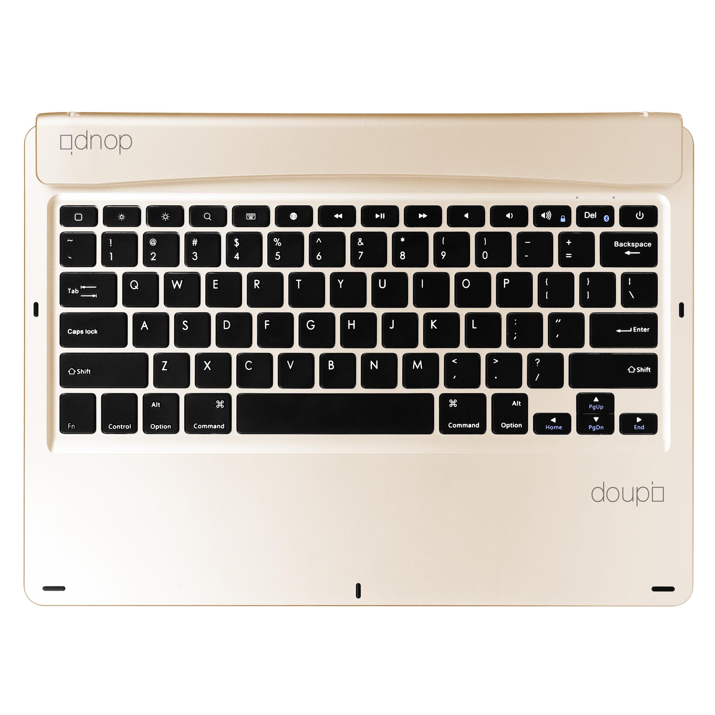 Bluetooth-Tastatur-iPad-Pro-12-9-2015-2017-Smart-Keyboard-Englisch-EN-UK-Tasche Indexbild 9